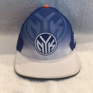 Adidas NY Knicks 2011 Draft Fitted Hat Sz S/M